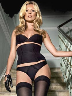 Kate Moss Sexiest Lingerie Model Ever