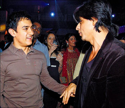 Shah Rukh Khan and Aamir Khan won't share screen space