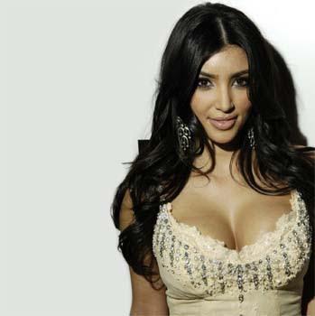 Kim Kardashian feeling broody