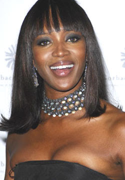 Naomi Campbell plans 1 million honeymoon
