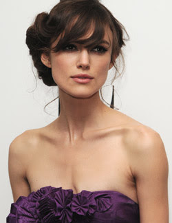 English actress Keira Knightley poses nude for artist