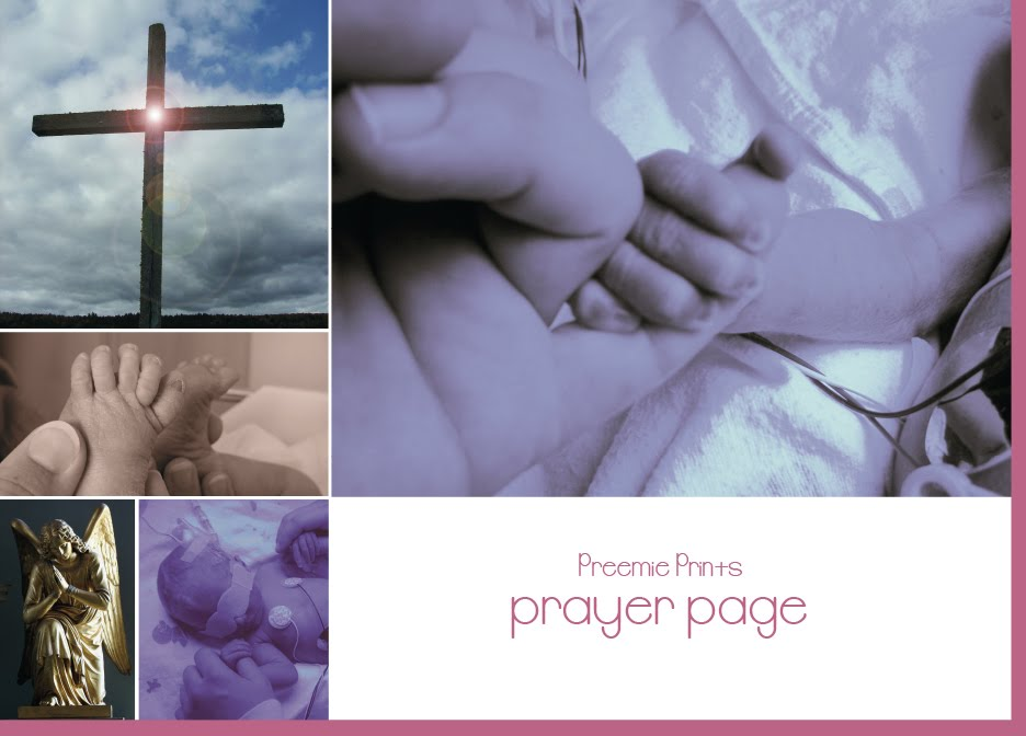 Preemie Prints Prayer Page