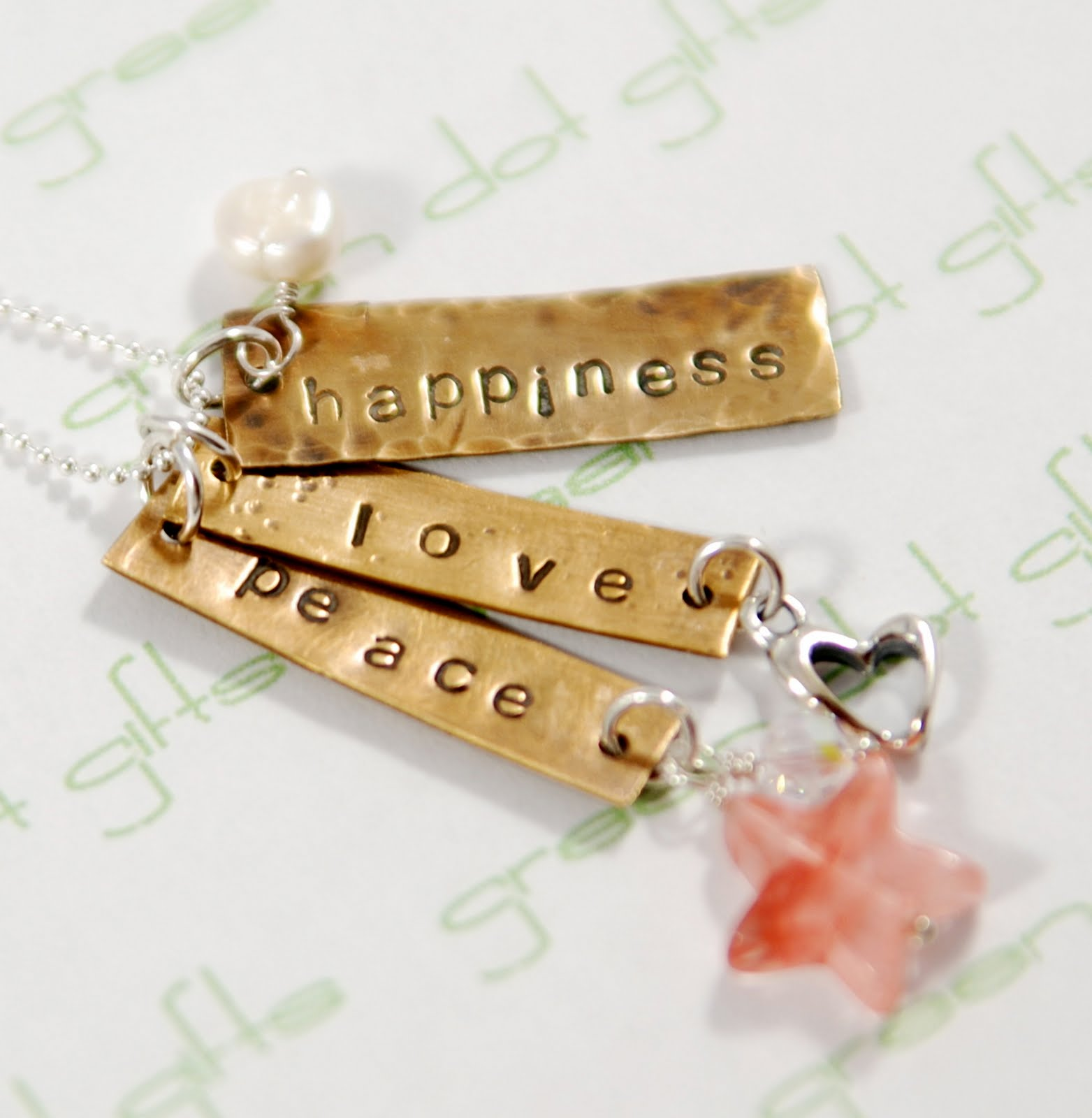 and dangles who needs a little peace love and happiness