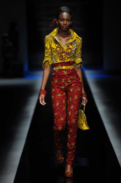 2010 Africa Fashion Week Ituen Basi Sakina Msa Ciaafrique African Fashion Beauty Style