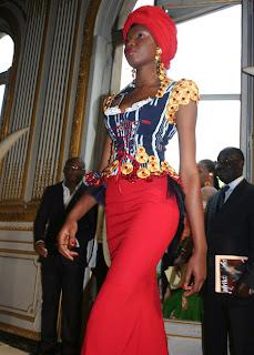 Modeles en Gilles toure- mode Africaine