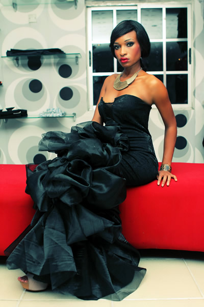 Nigerian fashion Designer  Sally Bawa