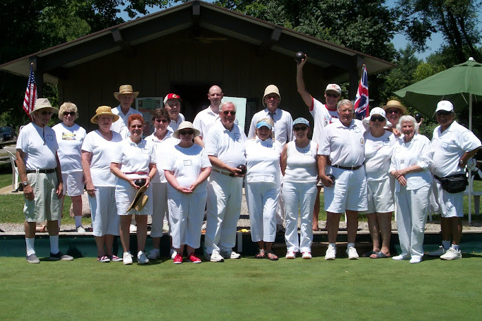 Club Members at July Tournament
