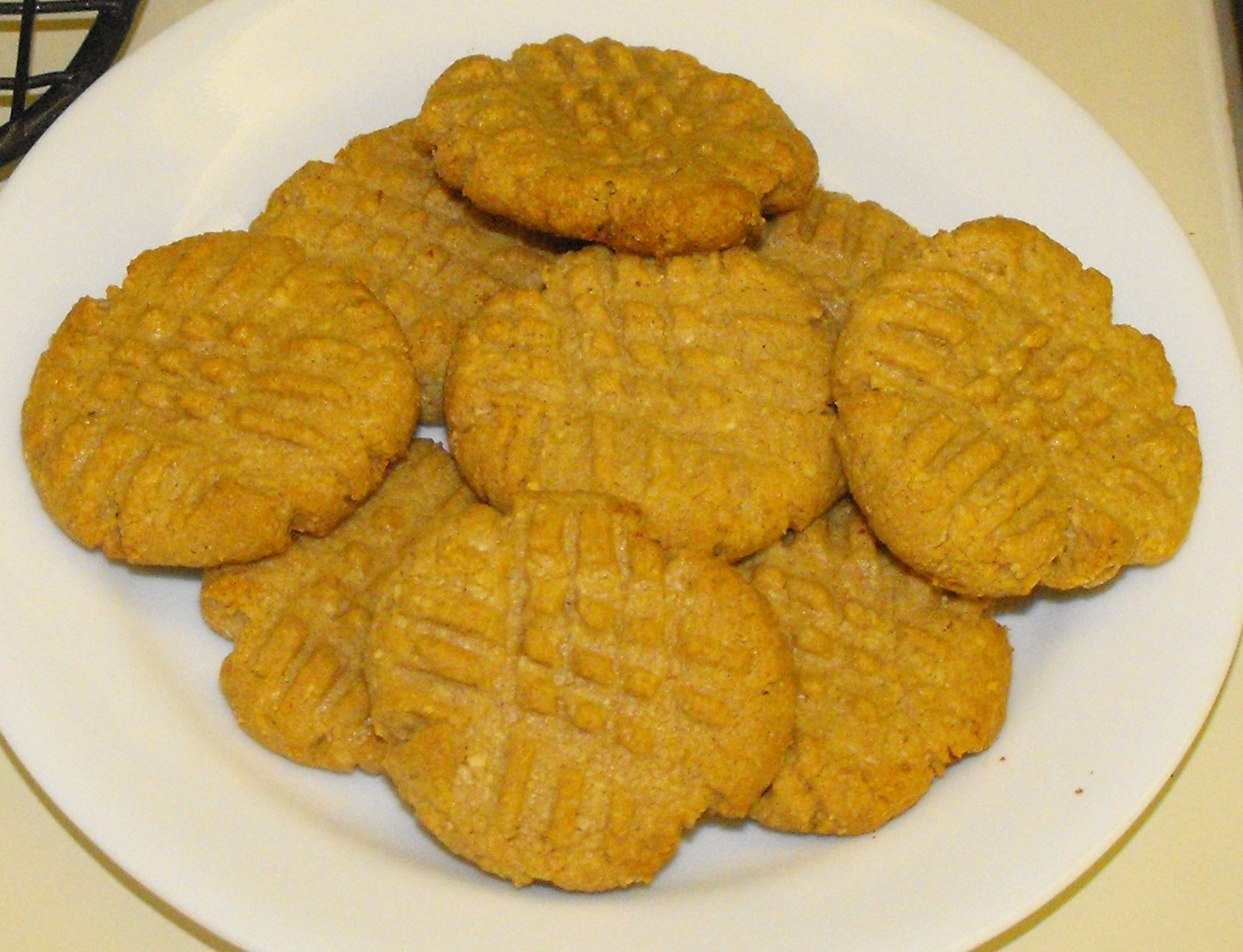 ... of a Southern Kitchen: Sugar Free Sunday--Peanut Butter Cookies