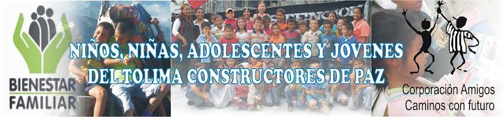 JOVENES DEL TOLIMA CONSTRUCTORES DE PAZ
