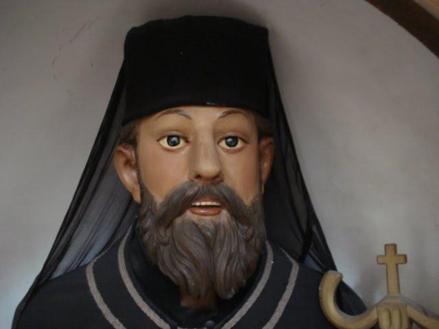 Stilo, particolare statua San Giovanni Theristys (sec. XIX)