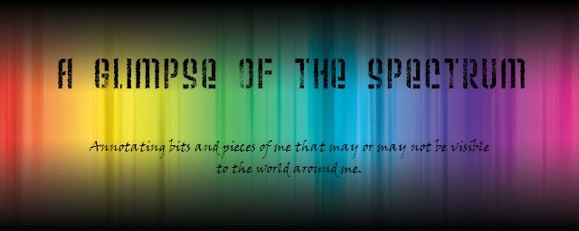 A Glimpse of the Spectrum