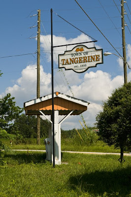History of tangerine county florida at new line in winbatch message