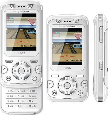 Sony Ericsson F305 Is for Game Players