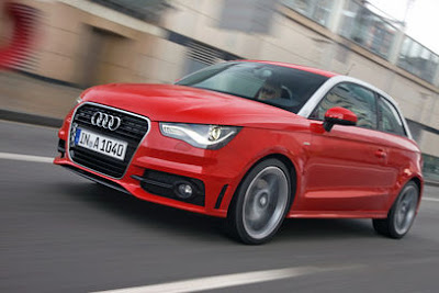 Audi A1 driven