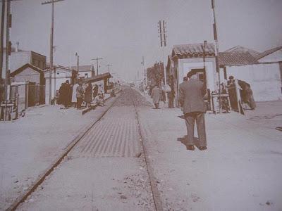 Garrido profundo historia de la estaci n de ferrocarril for Piscina alamedilla
