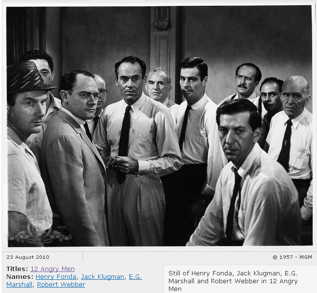 an analysis of the movie twelve angry men Title: length color rating : analysis of 12 angry men essay - the play 12 angry men is one of the greatest plays i've seen i read the novel and saw both movies but.