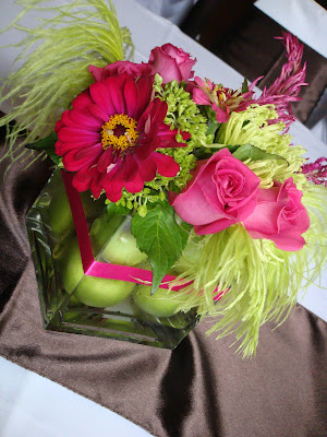 Subject wantedtable decoration ideas for lime green and hot pink