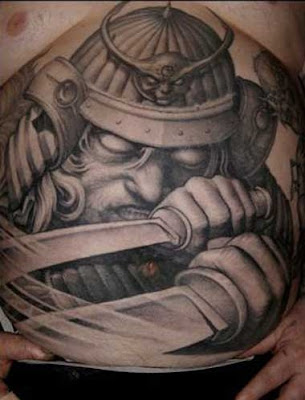 One of Japan's top tattoo artists creates traditional Japanese art on a