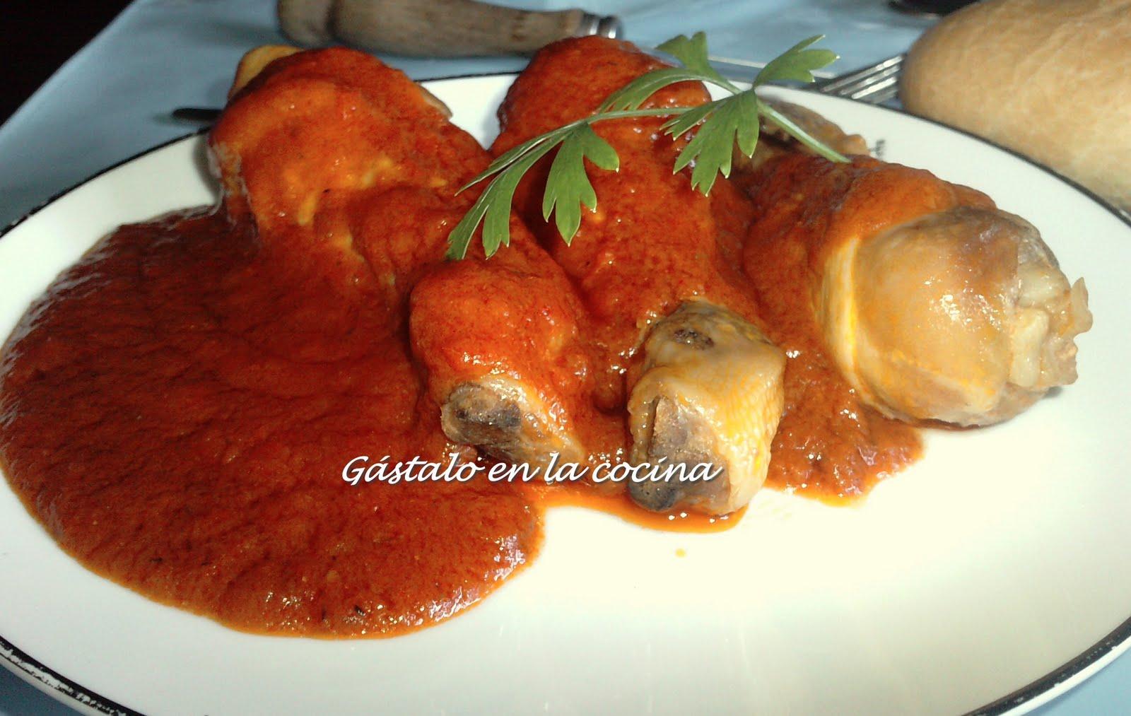 G stalo en la cocina muslitos de pollo en salsa - Muslitos de pollo ...