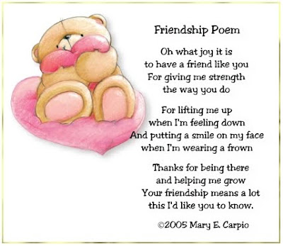 poems for friendship. Birthday Poems For Friendship.