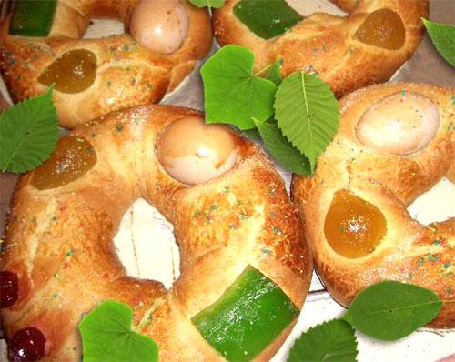 Rosca de Pascuas Mona-de-pascua-tradicional