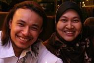 me & riz 2009