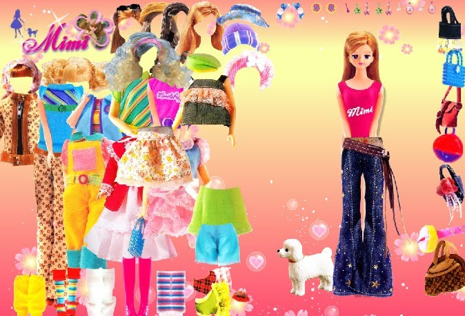 Barbie Girl Disney Costume dress up Game 100% High Neck Dressup