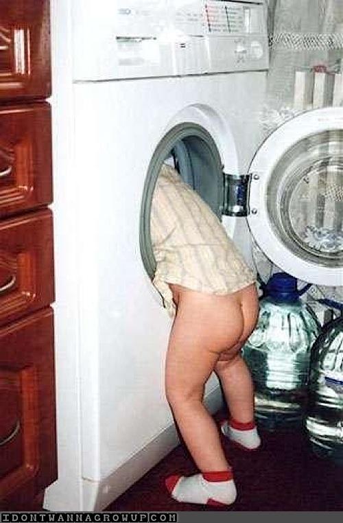 cute baby laundry