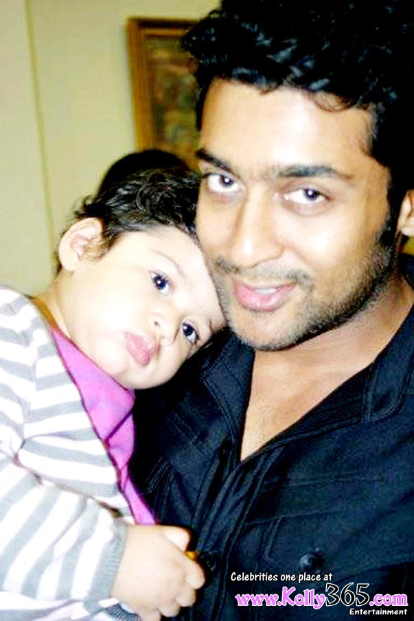 actor suriya jyothika Daughter baby girl diya photo image stills gallery