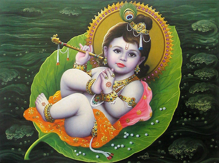 baby bala krishna in Ocean on kleaf