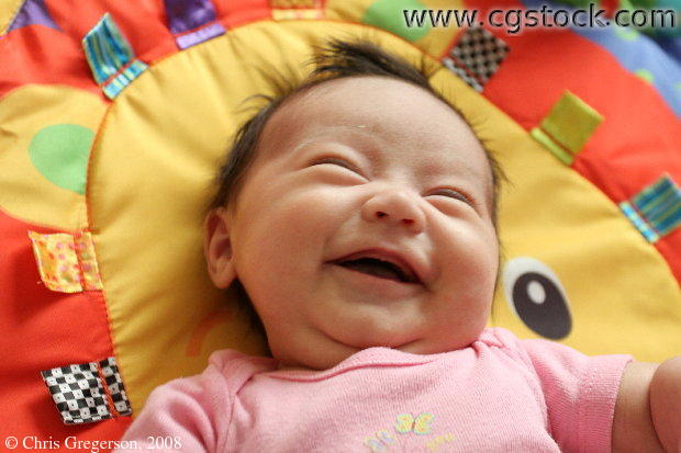 Cute baby laughing photos