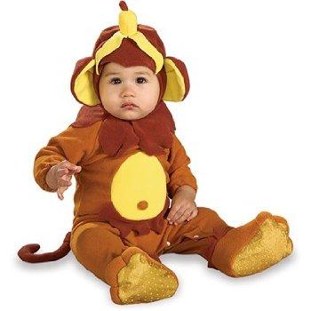 Cute baby boy in Monkey costume