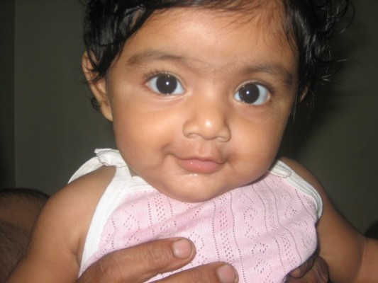 Indian baby girl photos