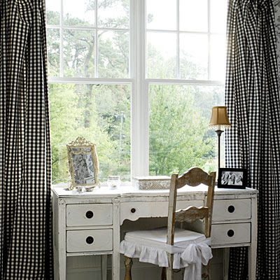 Black And White Geometric Curtains Black and White Gingham Dres