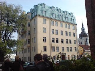 Apartamento de Lisbeth Salander