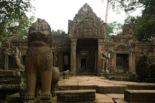 Templo en Angkor