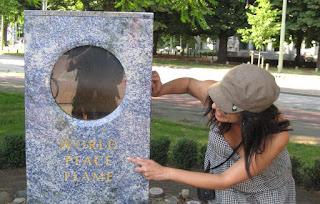 llama mundial de la Paz