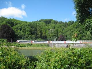 tren en Dinant