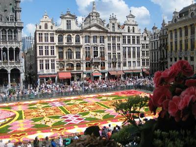 Alfombra de flores, Bruselas