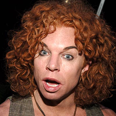 carrot top before. carrot top before and after.