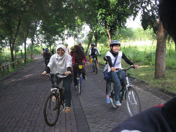 Gowes (bersepeda) untuk kesehatan
