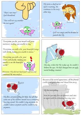 why god created flies
