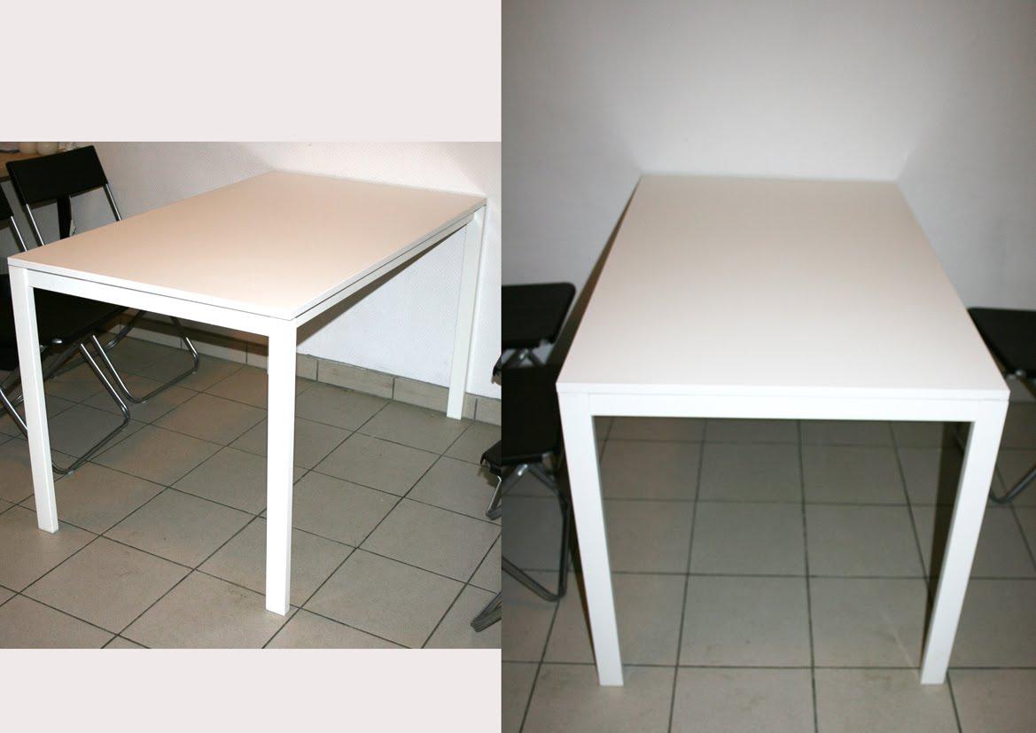 boulimie de fringues table ikea 125 75 70. Black Bedroom Furniture Sets. Home Design Ideas