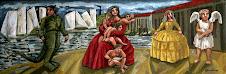 Familia con Hombre Caimán
