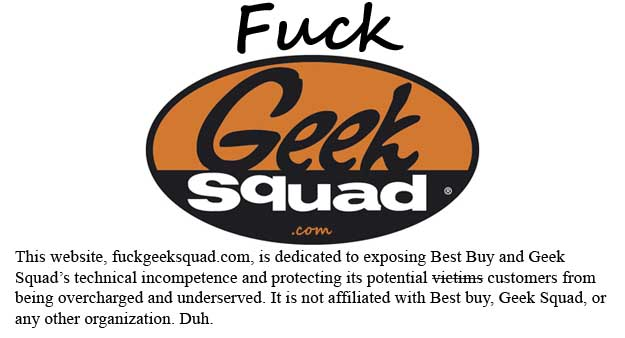 Fuck Geek Squad