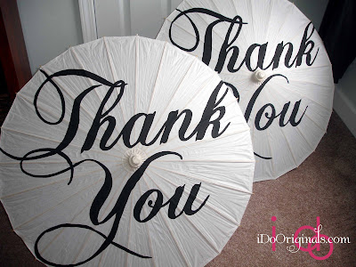 Thank You Parasol photo 1
