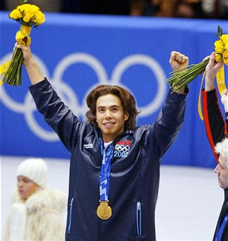And who can ignore Apolo Ohno? He should have one more silver medal