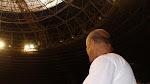 Mestre Tabosa no Ginásio Nilson Nelson no I Encontro de Capoeiristas 2010