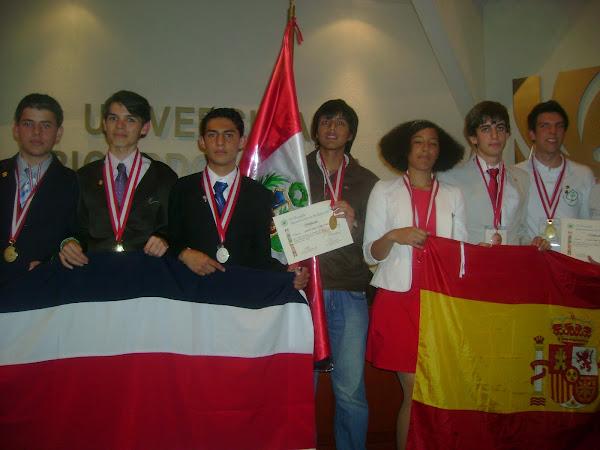 IV OLIMPIADA IBEROAMERICANA DE BIOLOGIA 2010