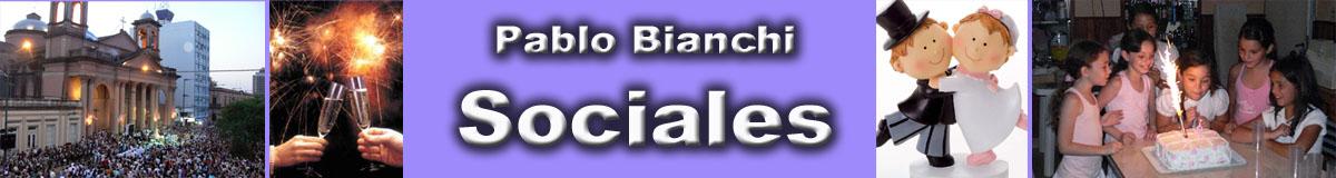 Pablo Bianchi SOCIALES